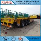 semi-remorque de lit plat de la capacité 40ton/50ton/45ton/55ton