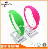Wristband del silicio del control de acceso con la viruta de RFID MIFARE