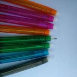 crayon lecteur de bille effaçable de point de 0.7mm avec du plastique d'Eco