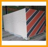 Prueba de humedad de la Junta de techo de yeso respaldados de papel
