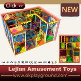 De plastic Dia van het Type van Speelplaats van de Speelplaats Materiële en Binnen (t1501-6)