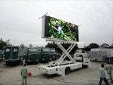 Exhibición de LED móvil del carro al aire libre caliente de la venta P10