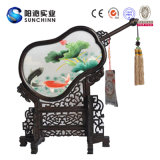 Lotus Notes и Goldfish дизайн китайский вышивка ручной работы (SCTD00045)