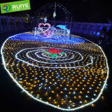 LED Net Mesh Holiday Decoração Net Light LED Light Exterior