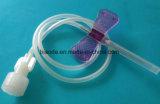 Medizinisches WegwerfKopfhaut-Ader-Set mit Luer Verschluss/Luer Beleg-Verbinder