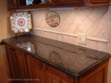 Countertop van de Keuken van het Graniet van het Mahonie van Dakota Rode voor Keuken/Bathroom/Table