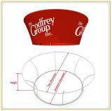 10ft pendaison Cercle conique signe de tissu pour Trade Show