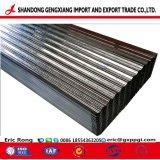 Material de construção da fábrica de papelão ondulado folha de metal de Aço Galvanizado