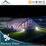 Famoso contínuo Curved Tent do evento desportivo de Structure 25X50m Outdoor com Flame Resistant