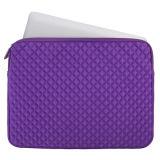 Красивые тиснение с ромбовидным орнаментом из неопрена, сумка для ноутбука (NLS022)