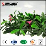 屋外の装飾的な花のプラスチック庭の人工的な塀