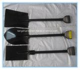 Стальная рукоятка лопаты лопаты для огородничества с помощью