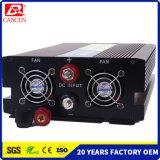инвертор DC12V автомобиля волны синуса высокого качества OEM инвертора 2000W чисто к AV120V