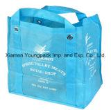 Saco de mantimento reusável da grande tela não tecida amigável feita sob encomenda relativa à promoção do Polypropylene de Eco