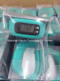 Promoção Gift Silicone Pedometer Wrist Watch