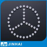 5mm rundes transparentes festes Glassball mit industriellem Gebrauch