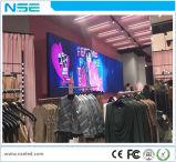 Visualización fijada RGB de interior de la instalación de la pantalla de visualización de LED de Nse P3mm