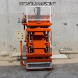 Machine de verrouillage de brique d'argile comprimé hydraulique semi-automatique de la terre de machines de Wante (WT1-10)