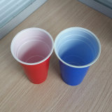 18oz 510ml 처분할 수 있는 PS 플라스틱 미국 빨강 솔로 당 컵