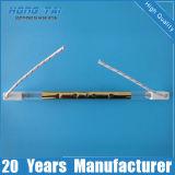 Infrarrojos de alta densidad de calefacción del tubo de cristal de cuarzo.