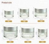 Tarro poner crema cosmético de la crema del rectángulo (NBG18)