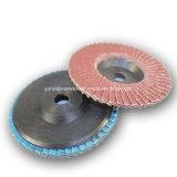 Заслонка подачи производителя диска 75мм обедненной смеси абразивных полировка дисков