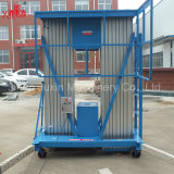 6-14m de hauteur de levage mobile en alliage aluminium antenne plate-forme de levage hydraulique de travail avec des prix de vente directe en usine