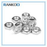 La norme DIN 439 contre-écrou en acier inoxydable, hex écrou mince ISO4036