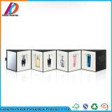 Empaquetado cosmético de lujo del rectángulo del diseño de lujo negro mate