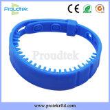 Pulseiras de desporto 13.56MHz pulseiras para controle de acesso a jogos de futebol