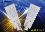luz de rua solar Integrated do diodo emissor de luz 25W (todos em uma solar)