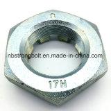 Noix DIN937 encochées par hexa avec Zp