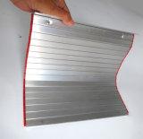 Placa de alumínio extrudido coberturas para máquinas CNC