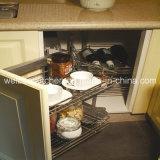 2016 Welbom America Style L Shape Wooden Kitchen Cabinet
