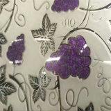 8mm曇らされたデザイン氷によっては装飾的なガラスが開花する