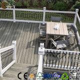 Деревянный пластичный трудный твердый напольный Decking сада