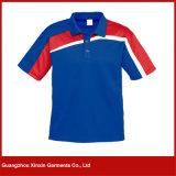Fabrik-preiswerte Muffen-Großhandelshemden für Männer für Förderung (P117)