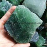 De natuurlijke Groene Ruwe Stenen van het Kwarts van het Kristal van de Rots van het Fluoriet Ruwe
