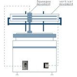 Полностью автоматический экран печатной машины для высокой точности ветрового стекла