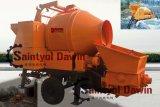 Bomba de Concreto Diesel multiuso com bomba de Mistura de betão de mistura da bomba de concreto sobre a venda