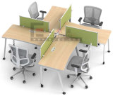Sitio de trabajo del personal del escritorio de la partición de los muebles de oficinas de escuela de China