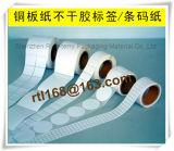 Auto-adesivo da etiqueta de papel em branco