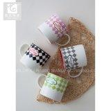 La impresión de logotipo propio 12oz 14oz porcelana taza de té de la copa de leche