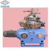 Lleno de acero inoxidable tipo automático de la pila de discos disco disco /centrífuga /separador del filtro de aceite de coco con alta velocidad de la máquina
