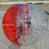 Media bola Loopy D5018 del balón de fútbol de la burbuja del diámetro TPU del color el 1.0m