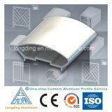 O alumínio de alumínio do preço da fábrica expulsou perfil para o indicador de alumínio da porta