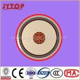 N2xsyry 20,3 / 35 Kv XLPE isolés fils ronds en acier blindé, câbles -CORE simples avec Cuivre