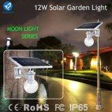 iluminación accionada solar ligera al aire libre del jardín de la calle de 12W LED
