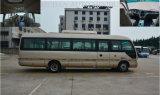 Omnibus del coche del modelo del microbús de la estrella del turismo de Rhd del freno neumático con estándar del euro III