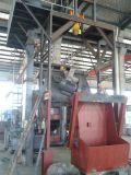 Constructeurs polygonaux de machine de nettoyage de grenaillage de série de bâti